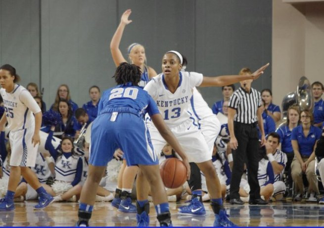 Bria Goss (13), Kentucky Wildcats (NCAA, USA) (Foto: nationofblue.com)